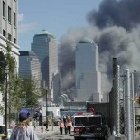 September 11th, 2001 attacks as seen from Jersey City (picture Aspersions)