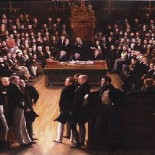 The passing of the Great Reform Act in 1832, by Sir George Hayter (1792-1871) (picture National Portrait Gallery)