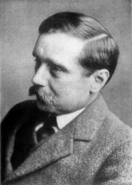 H G Wells (source Gutenberg.org)