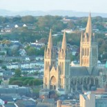 The cathedral city of Truro, county town of Cornwall (picture Freefoto.com