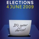 Poster promoting the European elections (source European Parliament)