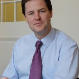 Nick Clegg, not succeeding