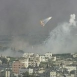 Bombs fall on Gaza (picture Al-Jazeera)
