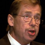 Vaclav Havel, president of the Czech Republic