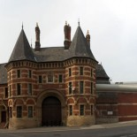 Political hotbed?  Entrance to Strangeways prison, Manchester (picture Stemonitis)