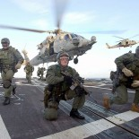 US Navy Seals deploy from a helicopter (picture Photographer's Mate 1st Class (AW) Michael W. Pendergrass / US Navy)