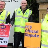 In protest against the proposed changes to public sector pensions