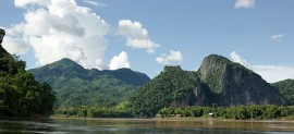 A view of the Mekong River at Luang Prabang in Laos (picture Allie Caulfield / Flickr)