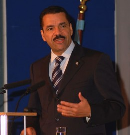 Ronald K Noble, Secretary General of Interpol (picture US Department of Justice)