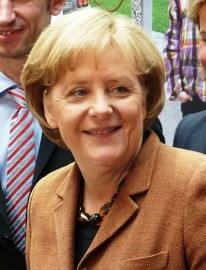 German Chancellor Angela Merkel (picture Rudolf Simon)