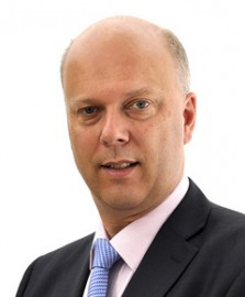 Chris Grayling, secretary of state for justice (picture Work and Pensions Office)
