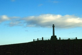 Flodden Memorial, to commemorate the Battle of Flodden Field in 1513 (picture Stephen McKay, geograph.org.uk)