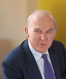 Rt Hon Vince Cable MP (picture Andrew Sales)
