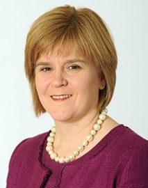 Nicola Sturgeon, first minister of Scotland - gets another chance for independence?