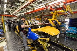 Nissan production line, Sunderland